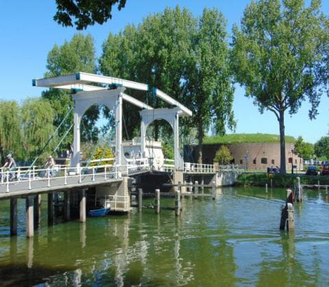Amsterdam Windmill Tour - skinny bridge weesp