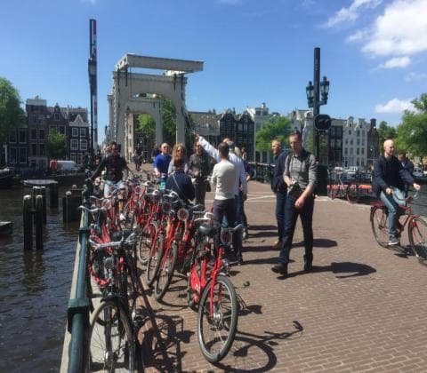 amsterdam bike tours - our guides