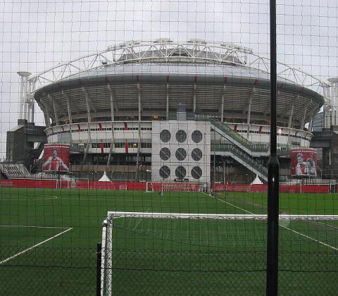 johan cruijff tour - the johan cruiff arena stadium